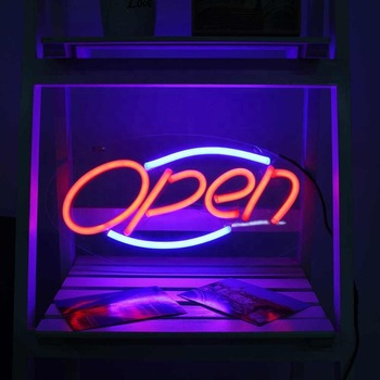 Letters Words LED Neon Sign OEM Unbreakable High Quality LED Neon Sign
