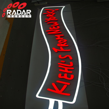 Brushed Stainless Steel Metal Letters Brand Logo Sign channel Letter Factory