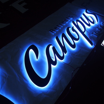 Outdoor Programmable Led Backlit House Number Signs led number sign metal illuminated letters