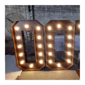 logo sign made in weeding big letters led menu board love decoration water resistant outdoor