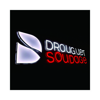 Custom Made Advertising Displays Mini Acrylic Front Lit Channel Letters Led Illuminated Signs