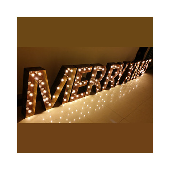 Custom Light Up Sign LED Marquee 3d led sign acrylic letters Letter Alphabet Lights with English letters