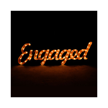 Romantic led sign light wedding love letters big letter metal marquee lights outdoor waterproof