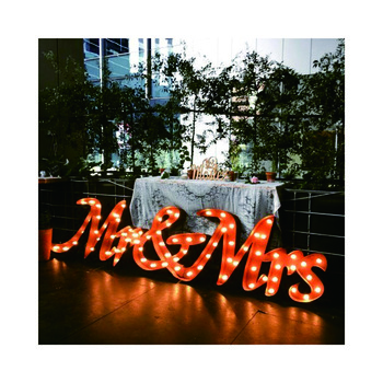 Metal big letters sign customized large 3d letter sign stand 3d advertising equipment outdoor
