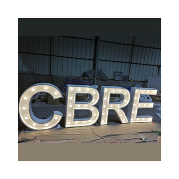Custom LOVE letters for decoration LED small marquee light letters sign metal garden arch