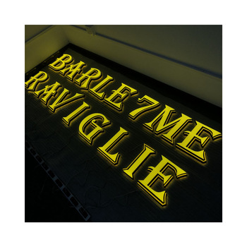 Led Sign Board Lighted Letters Front Store Acrylic Stainless Steel Letter Signs For Hign Brightness And Waterproof