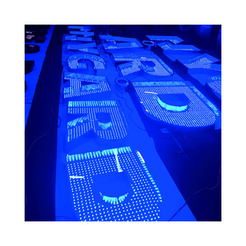 CE approved LED magnetic panel Cinema advertising light box shop front signage
