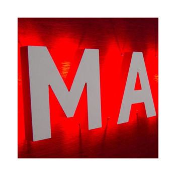 Business Logo Company Sign Board Led Back Lit Lighted Acrylic Letters Logo Sign