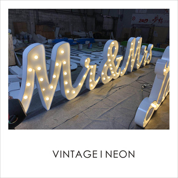 High brightness led marquee letters outdoor big channel letter sign illuminated letter