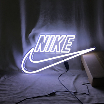 Creative custom led flex neon lighting clothing store sign of factory from China