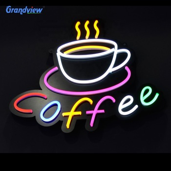 Manufacturer custom size waterproof led colorful flexible neon signs