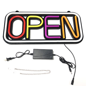 Good quality LED Neon Light Open Sign for for Business,Walls,Window,Shop,Bar,Hotel  Business