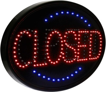 Ultra Bright LED 2 in 1 Open  Sign, Business Signs for Drink Food Restaurant  Cafe Bar Pub Coffee Shop Store Wall