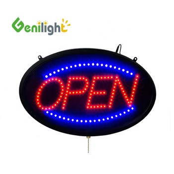 VIP 10 years wholesale window  open led sign