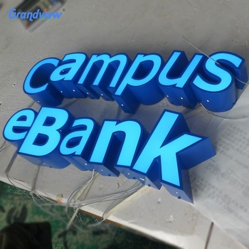 Building business 3d logo signage customized LED frontlit channel letter sign,advertis sign logo