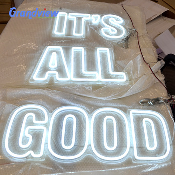 China neon sign manufacturer led silicone neon tube neon sign custom