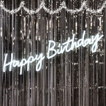 Happy birthday neon sign China Manufacturer Custom Bar Acrylic Led Letters Light Neon Sign