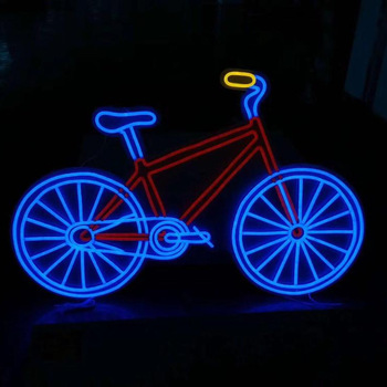 wholesale 3D Customized LED RGB flexible neon sign with acrylic backing