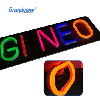 Flex tube led light attractive beer outdoor custom neon sign
