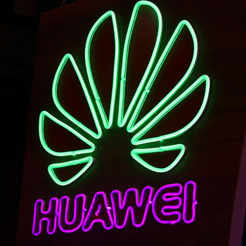 dc12v led ultra thin open neon sign to the moon and back