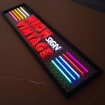indoor outdoor advertising light boxes led lightbox cheap bar open neon sign