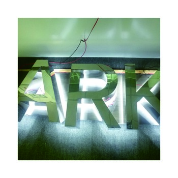 outdoor advertising led back illuminating channel letter