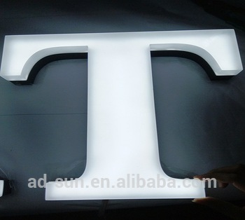 High Quality 3 Dimensional Stainless Steel Fabricated Channel Letters
