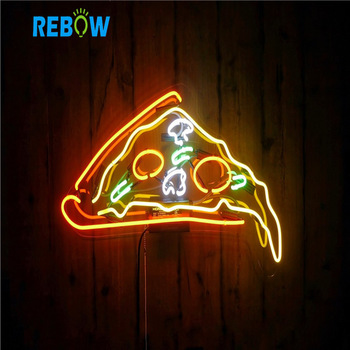 Custom Neon light 12V Neon Signs Letters Words Custom Neon Sign Letter Lighted LED Pizza Signs Outdoor Sign Board