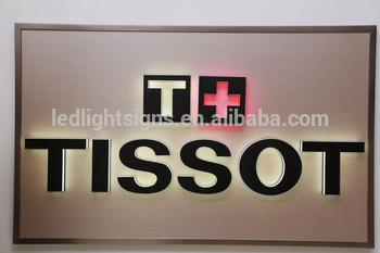 Double layers back side lit acrylic LED led sign board exit sign massage led sign for shop windows decorating display