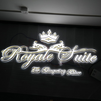 guangdong advertising board aluminum laser cut alphabet different letter cutting frame advertising led light box
