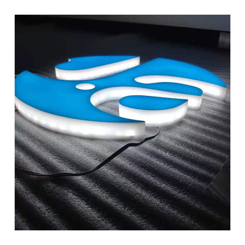 Custom Made Factory Decorative LED Acrylic Mini Lighted Channel Letter  acrylic led sign boards signage Signs