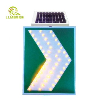 LED Solar Traffic Road Arrow Quality Safety Sign Traffic Safety Sign