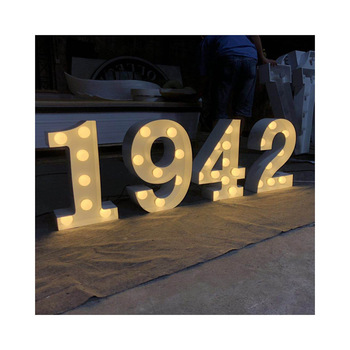 guangdong advertising board aluminum frame advertising led light letters box marquee letters PVC