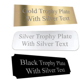 Custom engraved stainless steel industrial nameplates and tags