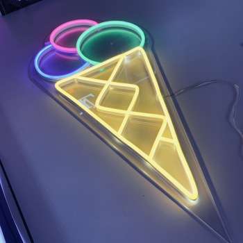 China factory neon signs in acrylic led neon light