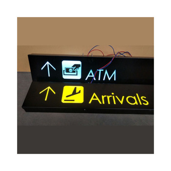 Board Sign Outdoor Waterproof 3D Led Advertising Light Box Letter Display Stand