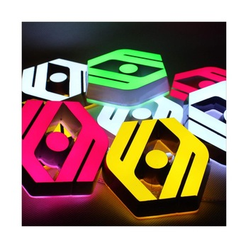 Fashionable design acrylic sign letters outdoor lighted sign letters