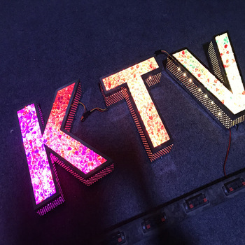 bar diamond light up letter led custom signs for advertising signable Bluetooth control