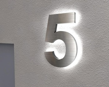 motor recycle brand neon sign name boards for shop wholesale small metal numbers retail signage design