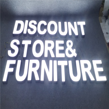 Illuminated Sign Outdoor 3d Channel Letter Led Sign
