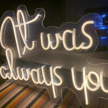 Customized Neon Signs Led Car Neon Light for Advertising Use Flex Neon Sign