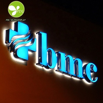 High Bright Face lit and Back lit Led Channel Sign Letters