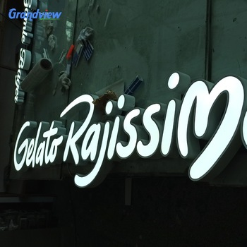 led signs indoor advertising outdoor wall led sign acrylic retail signs