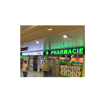 customized illuminated advertising signs letter