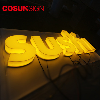 Acrylic Fabricated Outdoor LED Letter Sign
