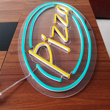 factory direct sale custom pizza neon sign acrylic neon sign and led neon sign