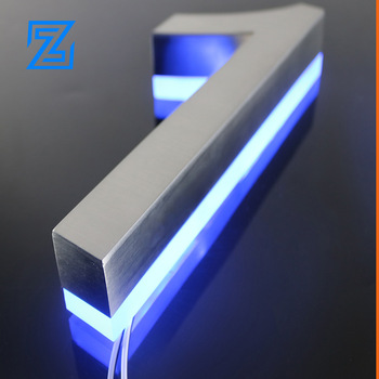 Electronic Sign Metal Letters Stainless Steel Logo Factory Supply LED Sign