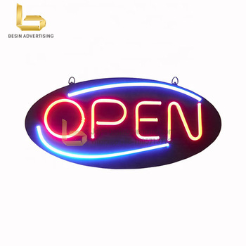 Custom Led Neon Opening Sign for Shop Sign