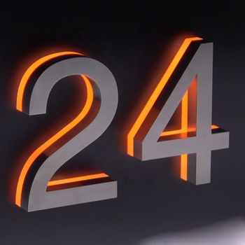 Custom Hotel Led Room Number