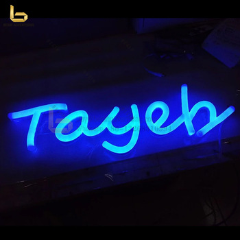 LED Light Neon Sign Maker, Acrylic LED Neon Sign, LED Neon Sign